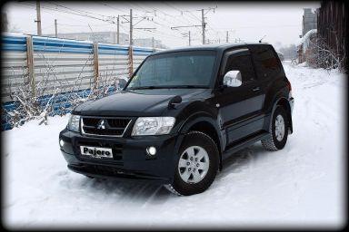 Mitsubishi Pajero 2004 отзыв автора | Дата публикации 07.05.2015.