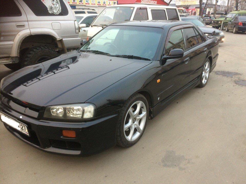 Nissan Skyline 1999 года, 2.5 литра, ПРИМЕЧАНИЕ  хорошо осведомлён о ... c03273bd06a