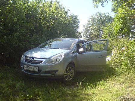 Opel Corsa 2007 - отзыв владельца