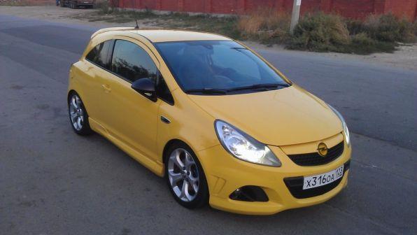 Opel Corsa 2008 - отзыв владельца