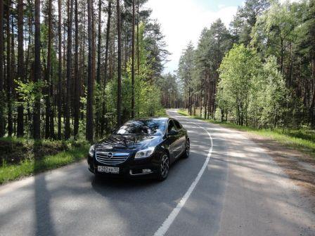 Opel Insignia 2013 - отзыв владельца