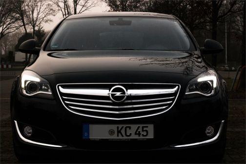 Opel Insignia 2014 - отзыв владельца