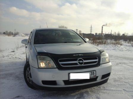 Opel Vectra 2002 - отзыв владельца