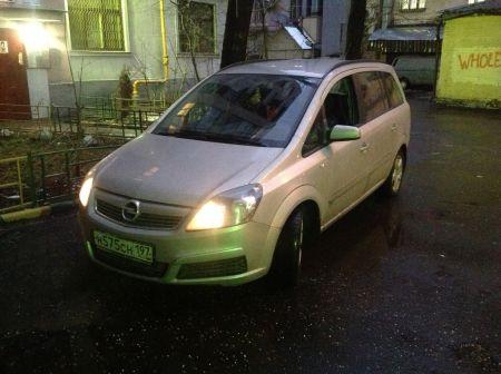 Opel Zafira 2007 - отзыв владельца