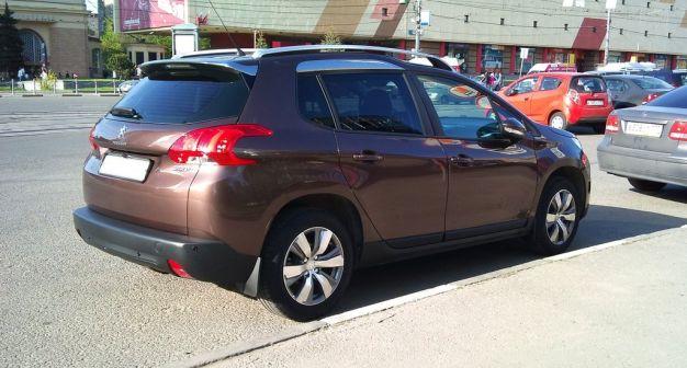 Peugeot 2008 2014 - отзыв владельца