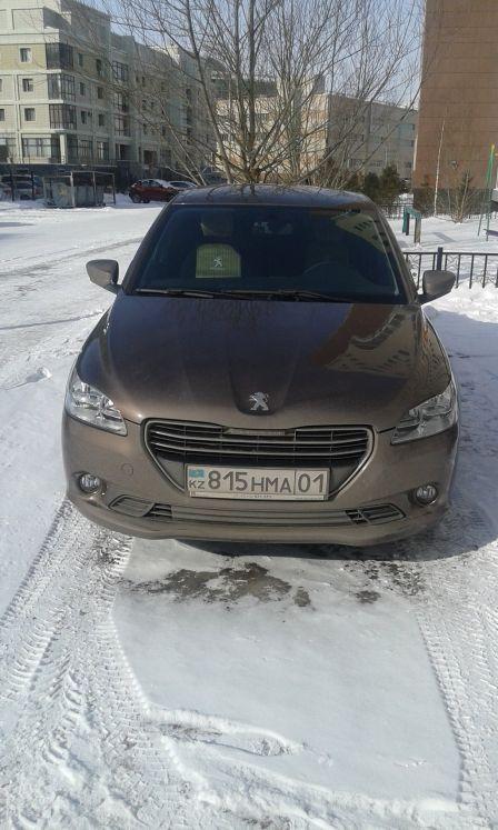 Peugeot 301 2014 - отзыв владельца
