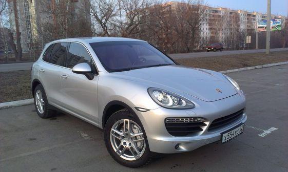 Porsche Cayenne 2014 - отзыв владельца