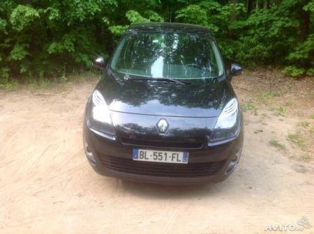 Renault Grand Scenic 2011 - отзыв владельца