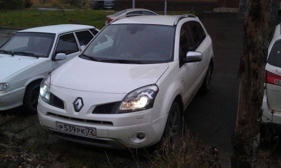 Renault Koleos 2010 - отзыв владельца