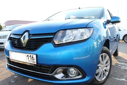 Renault Logan 2015 - отзыв владельца