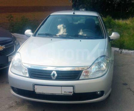 Renault Symbol 2010 - отзыв владельца