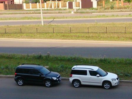 Skoda Yeti 2014 - отзыв владельца