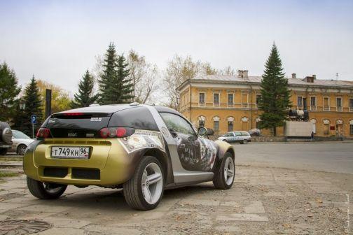 Smart Roadster 2003 - отзыв владельца
