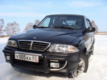 SsangYong Musso Sports, 2003