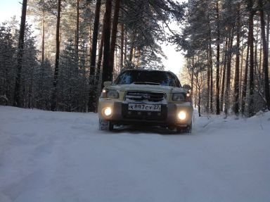 Subaru Forester 2002 отзыв автора   Дата публикации 12.06.2015.