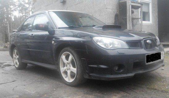 Subaru Impreza WRX 2006 - отзыв владельца