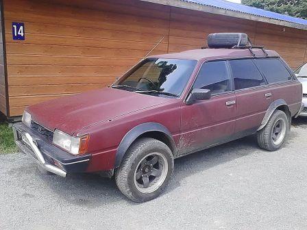 Subaru Leone 1985 - отзыв владельца