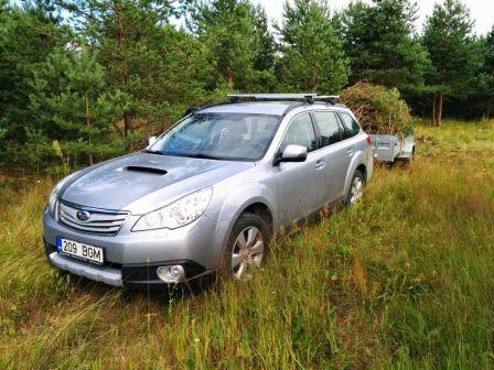 Subaru Outback 2012 - отзыв владельца