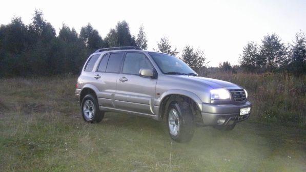 Suzuki Grand Vitara 2005 - отзыв владельца