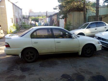 Toyota Corolla 1992 - отзыв владельца
