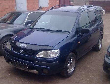 Toyota Corolla Spacio 1997 - отзыв владельца