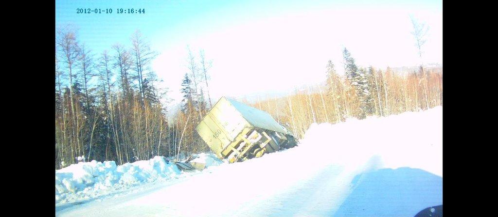 На трассе Селихино - Николаевск