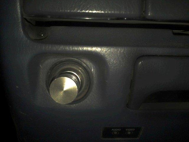 Металлическая заглушка-прикуриватель. Заглушка как настоящая но без внутренней начинки.