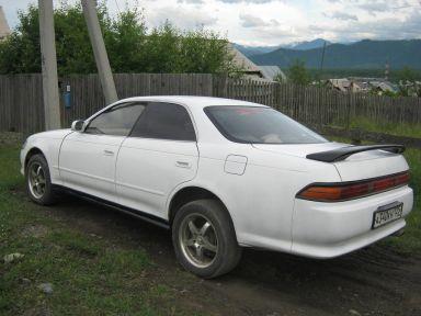 Toyota Mark II 1995 отзыв автора | Дата публикации 02.07.2014.