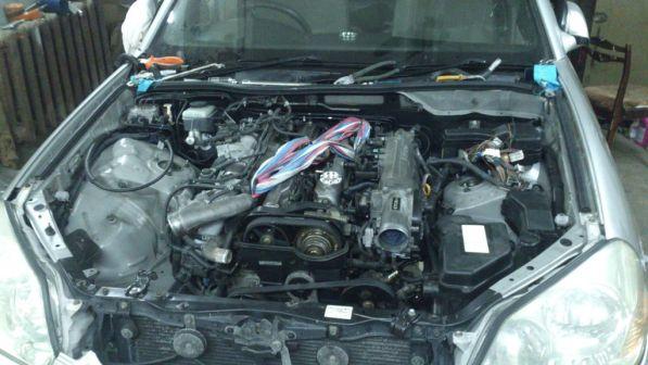 Toyota Mark II 2001 - отзыв владельца