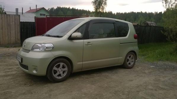 Toyota Porte 2010 - отзыв владельца