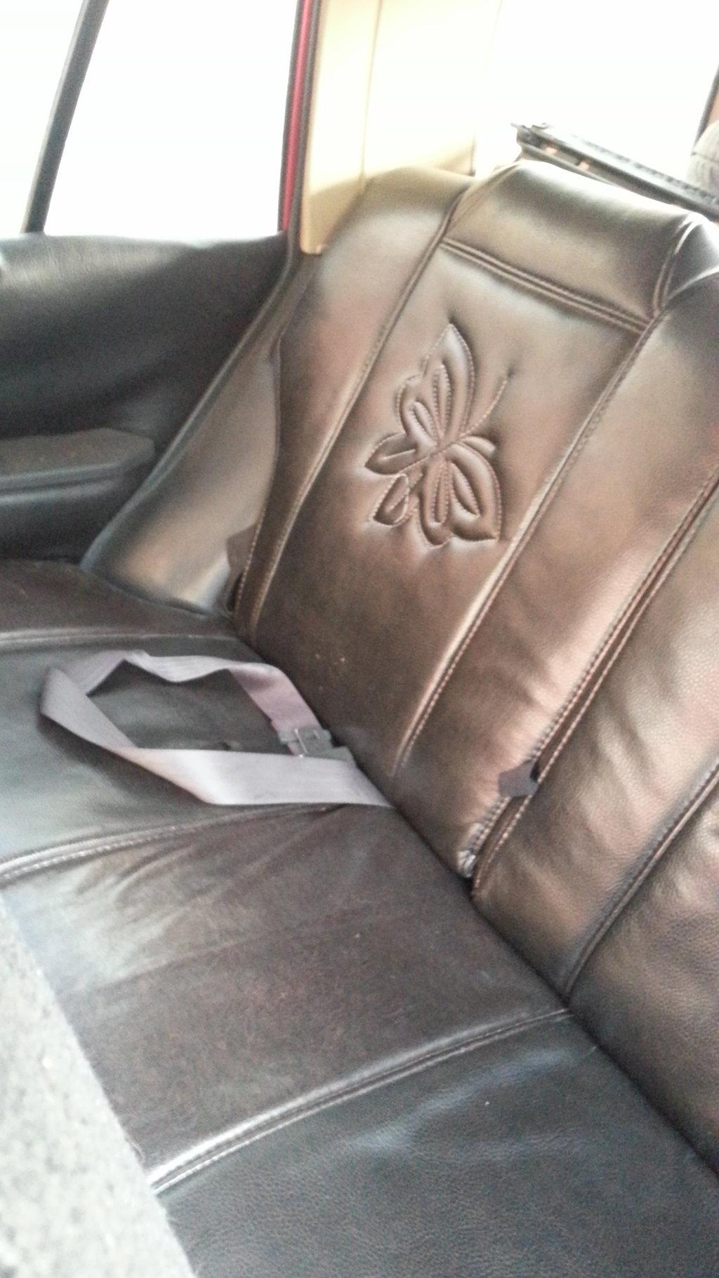 Задние сиденья. Между прочим не нашел ремень безопасности для этого сиденья. Как сына то садить туда?!