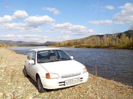 Toyota Starlet 1997 - отзыв владельца