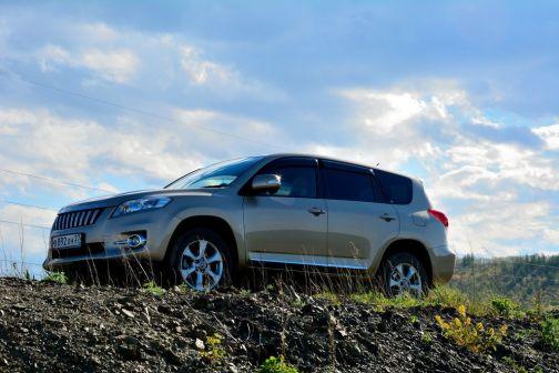Toyota Vanguard 2011 - отзыв владельца