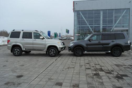 УАЗ Патриот 2015 - отзыв владельца