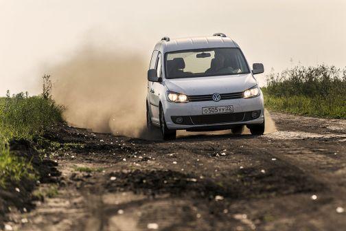 Volkswagen Caddy 2012 - отзыв владельца
