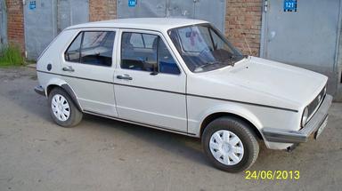 Volkswagen Golf, 1982