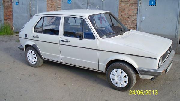 Volkswagen Golf 1982 - отзыв владельца