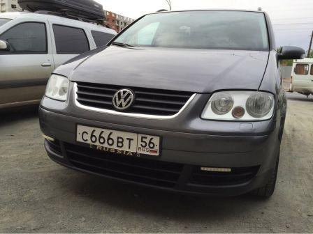 Volkswagen Touran 2006 - отзыв владельца