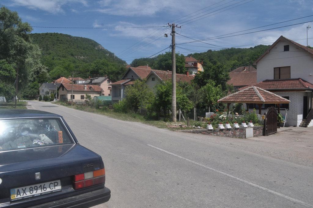 Вольвопутешественница в Сербии, 2015, машине 27 лет.