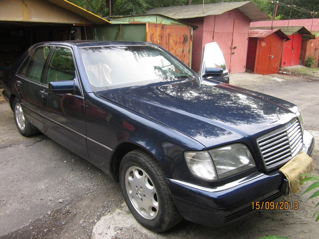 Mercedes benz s class 1997 for The biggest mercedes benz