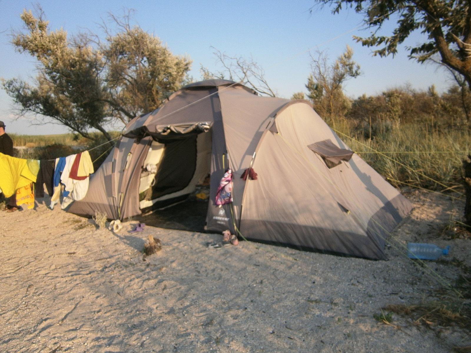 эротика отдохнули в палатке