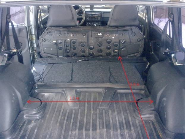 ваз 2131 фото салона и багажника