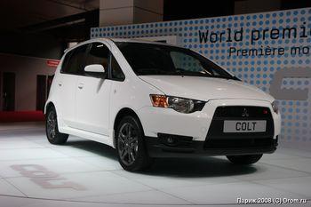 Mitsubishi Colt - мировая премьера