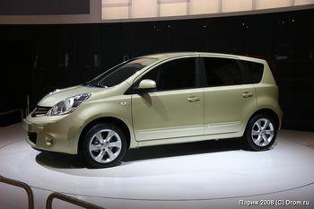 Обновленная Nissan Note