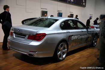 BMW 740i гибридная модель