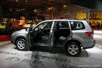 Дизельный Subaru Forester