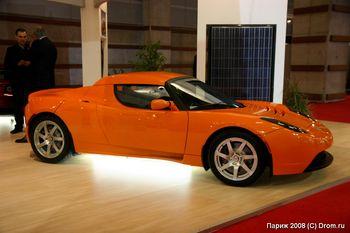 Электрический спорт-кар Tesla