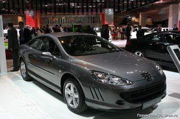 Новое поколение Peugeot 407 в кузове купе