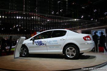 Новое поколение Peugeot 407 с экологичным двигателем
