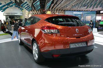 Новое поколение Renault Megane